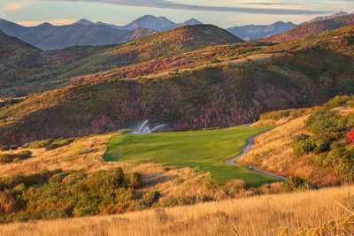 15th Hole, Soldier Hollow, Midway, Utah