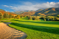 The Mountain Course, Wasatch Mountain State Park, Midway, Utah.