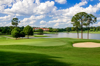East Lake Golf Club, Atlanta, GA - Across 5th and 6th Greens to Clubhouse