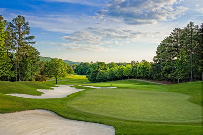 7th Green, Legacy Course, Greystone Golf & Country Club, Birmingham, Alabama