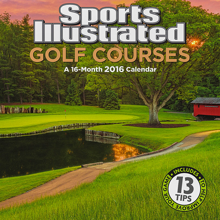 Sports Illustrated 2016 Golf Wall Calendar