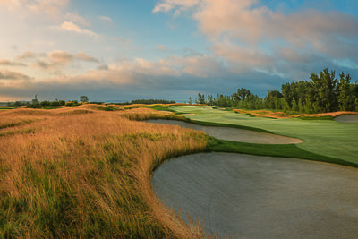 One of Bob Cupp's finest designs, Liberty National Golf Club is a true gem