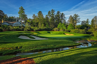 Wade Hampton Golf Club, Cashiers, NC - 9th Hole