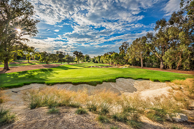 Los Robles Greens, Thousand Oaks, California, 9th Green