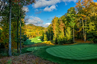 Mountaintop Golf & Lake Club, Cashiers, NC - 2nd Hole