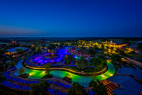 Waterpark at Night, JW Marriott Hill Country Resort, San Antonio, Texas