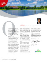 2015 PGA Tour Championship Magazine - Welcome from Tim Finches