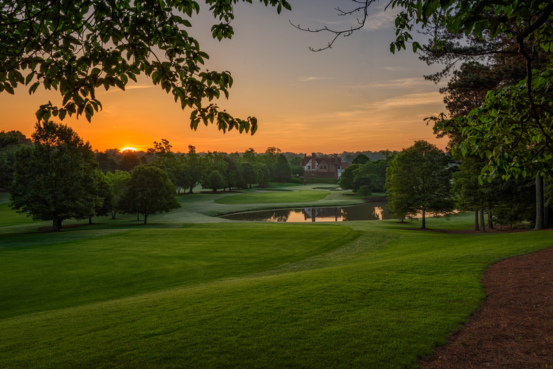 Eastlake Golf Club, Atlanta, GA - 9th Hole at Dawn
